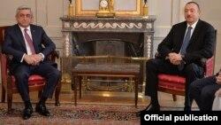 Սերժ Սարգսյանի և Իլհամ Ալիևի հանդիպումը Բեռնում, 19-ը դեկտեմբերի, 2015թ․