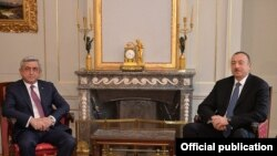 Саркисян менен Алиевдин сүйлөшүүлөрү, Берн, 19-декабрь 2015.