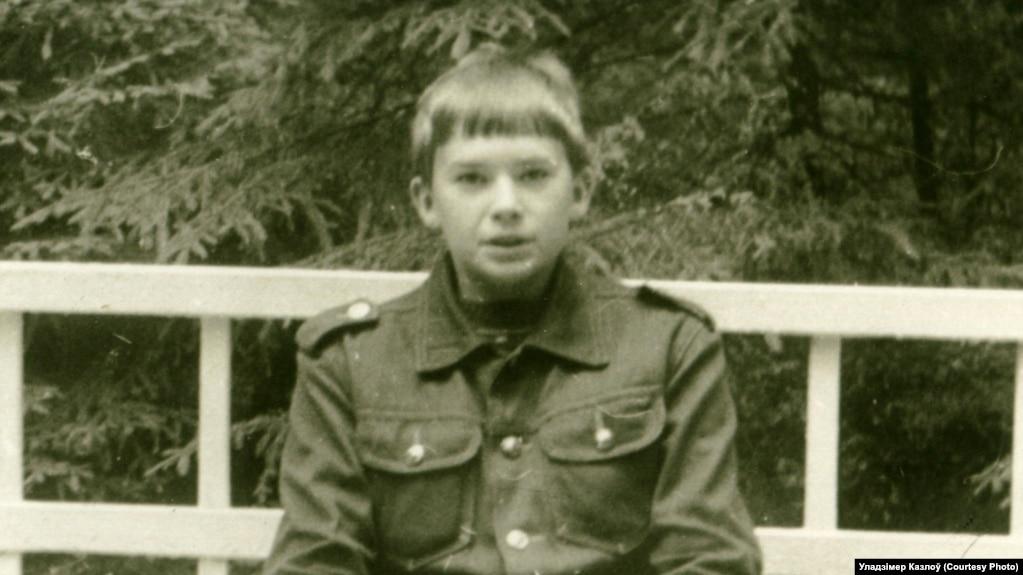Уладзімер Казлоў у 1985 годзе
