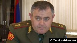 Armenia - Lieutenant-General Artak Davtian, the chief of the Armenian army's General Staff, December 12, 2018.