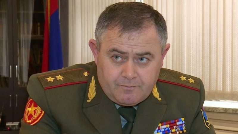 Armenian Army Chief Touts Arms Acquisitions