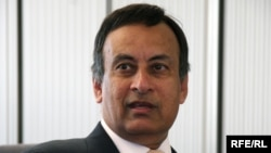 Former Pakistani Ambassador to the United States Husain Haqqani (file photo)