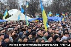 Євромайдан у Львові 1 грудня