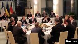 Переговоры «нормандской четверки». Берлин, 19 октября