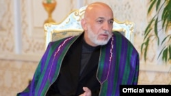 """If the intention was peace, then this shouldn't have been done,"" former Afghan President Hamid Karzai said of the drone strike that killed former Taliban leader Mullah Akhtar Mansur. (file photo)"