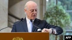 Пратеникот на ОН за Сирија, Стефан де Мистура