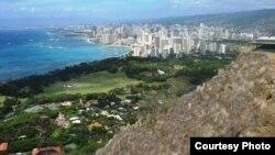 Ҳаваи оролидаги Вайкики курорти.