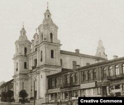 Касьцёл Сьвятога Антонія Падуанскага і кляштар бэрнардынаў, 1910 год