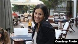 Марија Василевска, член на Студентскиот парламент на Универзитетот Св. Кирил и Методиј во Скопје.