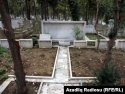 Əhməd bəy Ağaoğlunun doğmalarının məzarları