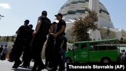Türk polisiýasy. Arhiwden alnan illýustrasiýa suraty