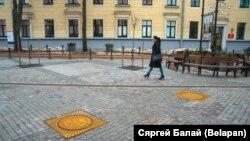 На пешаходнай вуліцы Камсамольскай у Менску, ілюстрацыйнае фота