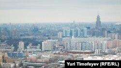 Вид на Москву. Иллюстративное фото.