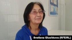 Зинаида Мухортова. Астана, 8 қазан 2013 жыл.