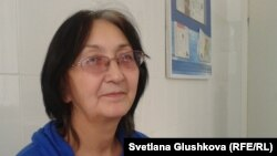 Адвокат Зинаида Мухортова. Астана, 8 қазан 2013 жыл