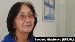Адвокат Зинаида Мухортова. Астана, 8 октября 2013 года.