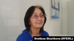Зинаида Мухортова. Астана, 8 октября 2013 года.