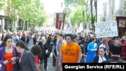 Виступи проти ЛГБТ-спільноти у Тбілісі 17 травня