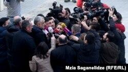 Мамука Хазарадзе после посещения суда