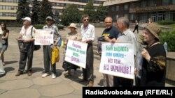 Акція проти законопроекту про засади державної мовної політики Запоріжжя, 5 червня 2012 року