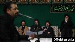 مداحی و روضه خوانی محمود کریمی در حضور رهبر جمهوری اسلامی، ۱۳ فروردین ۱۳۹۳