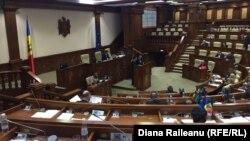 Plenul Parlamentului de la Chișinău