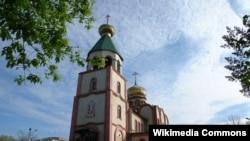 Православный храм в дагестанском городе Кизляр.