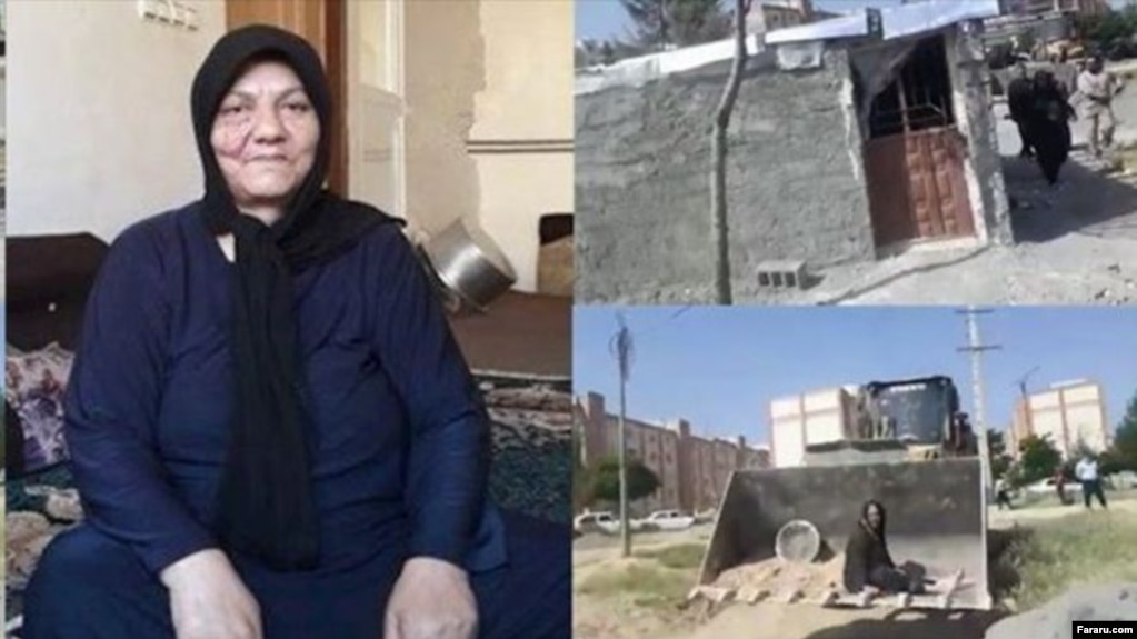 Asieh Panahi, a mother of seven in Iran died while trying to save her dwelling from demolition by city workers in Kermanshah.