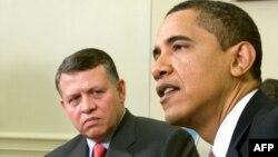 Barack Obama və II Abdullah
