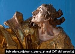Скульптура Іогана Ґеорґа Пінзеля «Святий Йоанн Євангеліст»