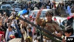 Одна из антиправительственных демонстраций в Сане
