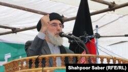 گلبدین حکمتیار رهبر جهادی و نامزد انتخابات ریاست جمهوری افغانستان