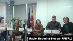 Прес конференција на невладини организациии во Мрежата на заштита од дискриминација.