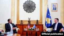 Kadri Veseli në takim me Omar S.Ashmawy