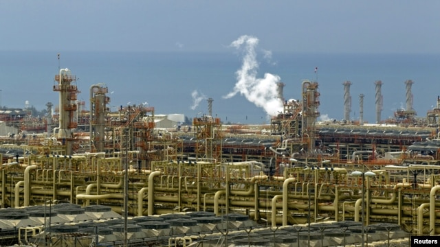 Gas refineries in Assalouyeh, Iran (file photo)