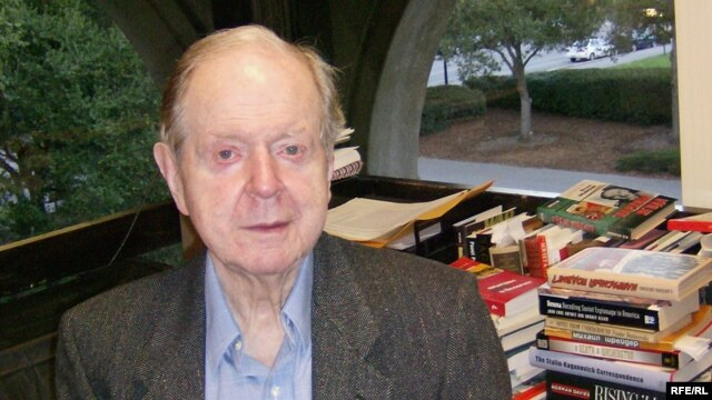 Robert Conquest pictured in December 2006