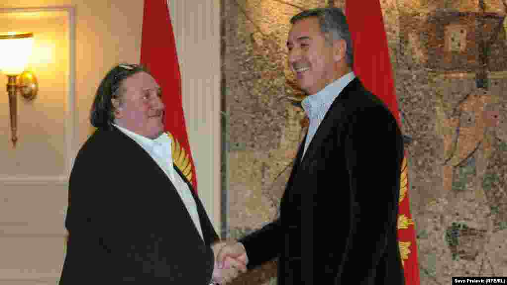Sa premijerom Milom Đukanovićem