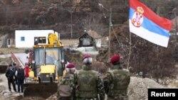Nga heqja e barrikadës në Jagnenicë, 05 dhjetor 2011