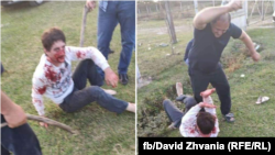 Беслана Хварцкия привезли в село Кутол, где избивали палками несколько человек