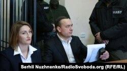 Микола Мартиненко на засіданні суду