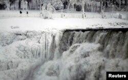 Вид на Ниагарский водопад со стороны Канады
