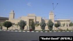 Бинои маркази исмоилия дар шаҳри Душанбе. Акс аз бойгонӣ