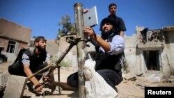 Эркин Сирия армиясынын жоокерлери, Дамаск