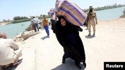 Біля Багдада: жінка, яка втекла з захопленого бойовиками Рамаді