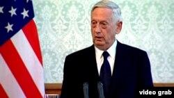 Министр обороны США Джим Мэттис (Кабул, 27 сентября 2017 г.)
