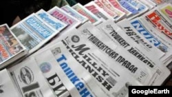 Uzbekistan -- Uzbek newspapers, 11May2013