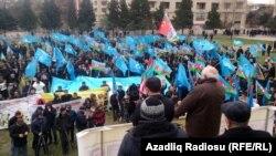 Ադրբեջան - «Մուսավաթ»-ի հրավիրած հանրահավաք Բաքվում, արխիվ