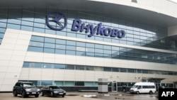 Pamje e aeroportit Vnukovo në Moskë