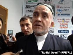 Тәжікстан мұсылмандары одағының басшысы Саидмукаррам Абдулқодирзода.