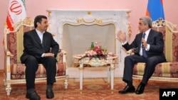Հայաստանի եւ Իրանի նախագահների հանդիպումը Երեւանում, 23-ը դեկտեմբերի, 2011թ.